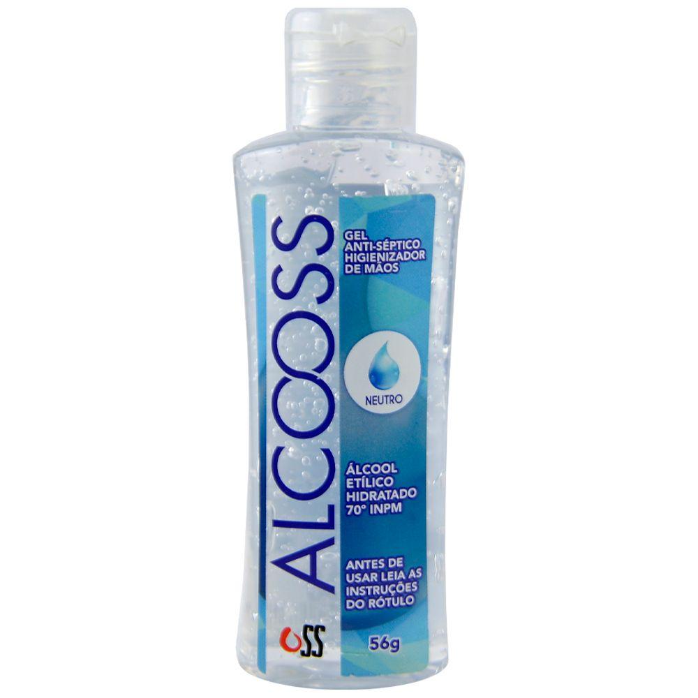 Produto Alcool em gel antiseptico higienizador pequeno