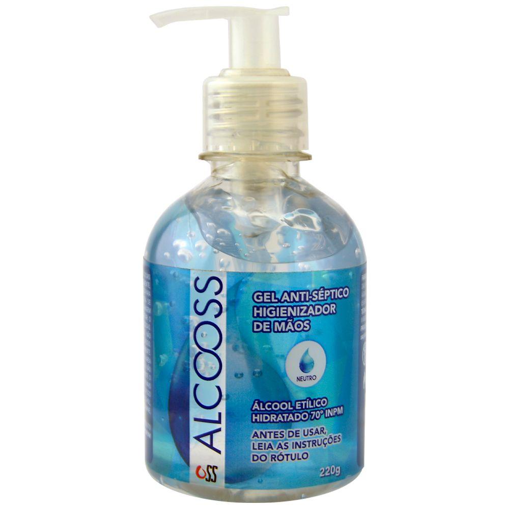 Produto Alcool em gel antiseptico higienizador